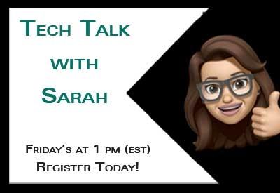 Rewatch - Tech Talk with Sarah