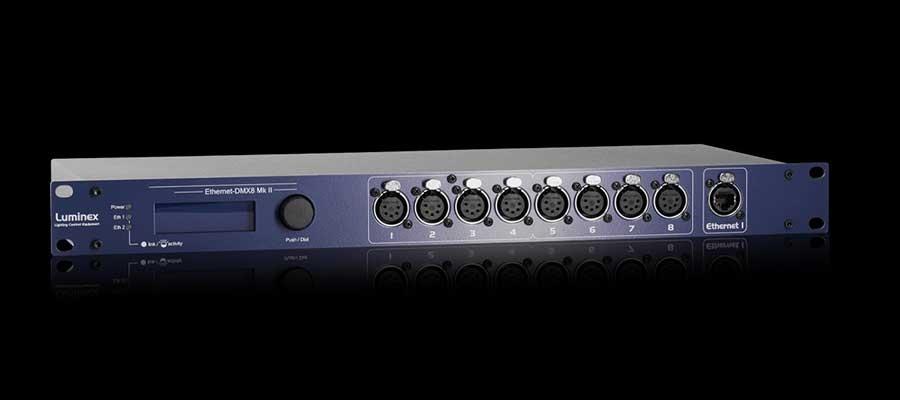 Luminex Firmware update Ethernet-DMX range