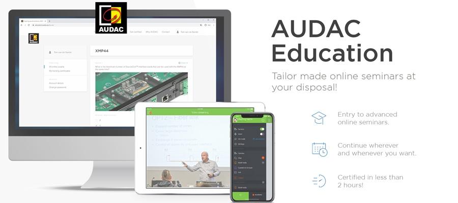 AUDAC Launches an Interactive Digital Education Platform