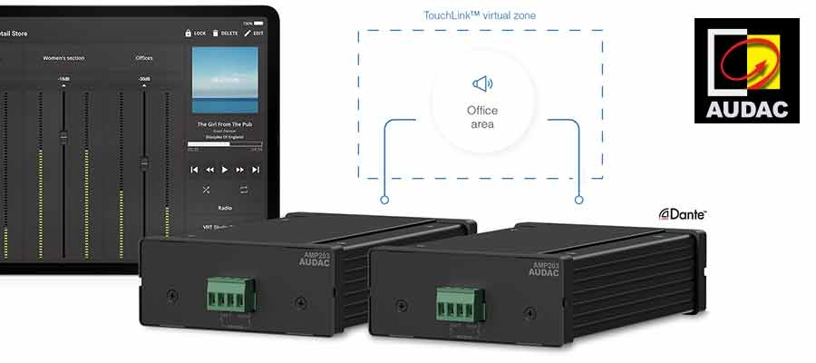 AMP203 uses TouchLink™ Technology