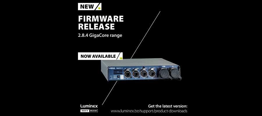Important Luminex Updates: GigaCore v2.8.4