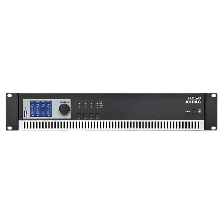 PMQ240 WaveDynamics™ quad-channel 100V power amplifier
