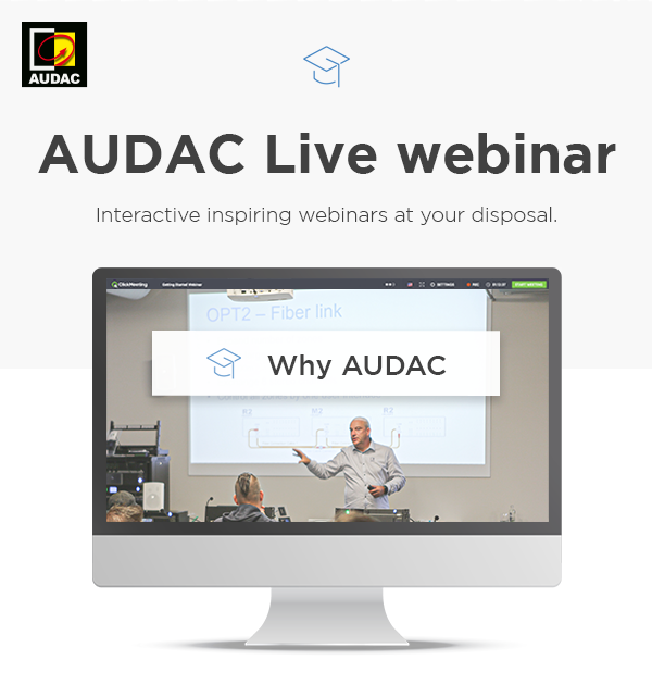 AUDAC Launches an Interactive Digital Education Platform