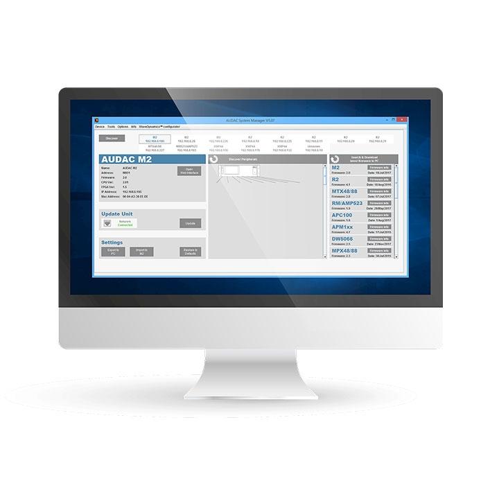 AUDAC Software