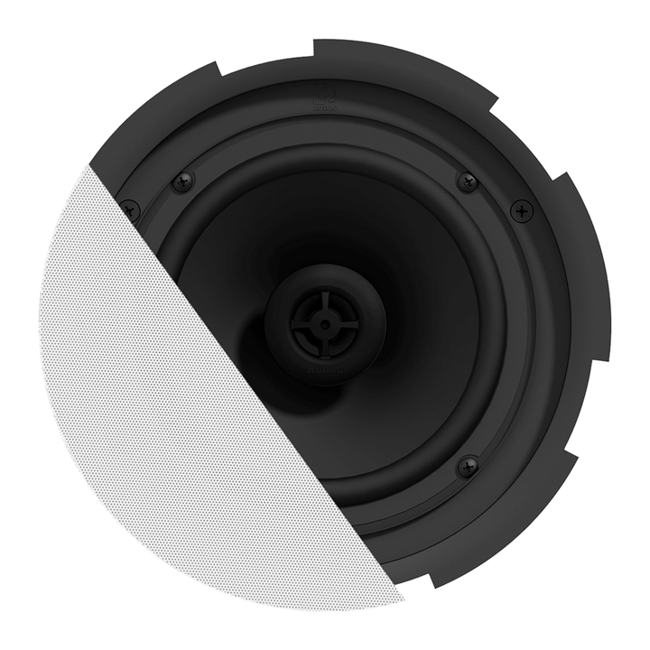 "CIRA7 QuickFit™ 2-way 6.5"" ceiling speaker with TwistFix™ grill"