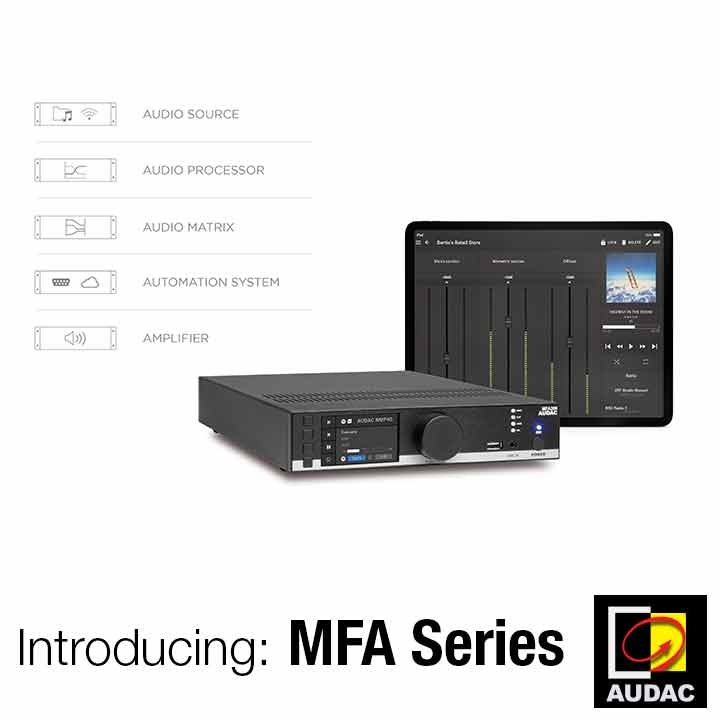 Introducing the MFA Series – Multi-functional Amplifier