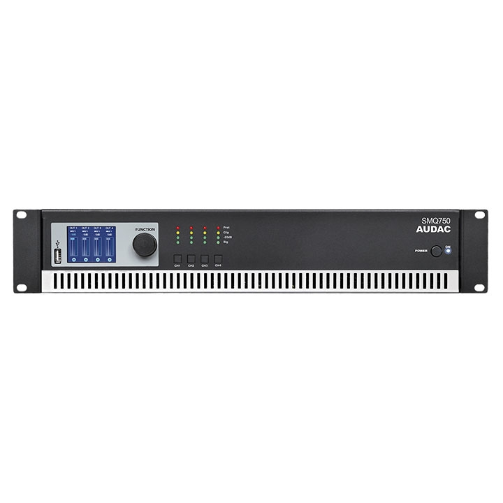 SMQ750 WaveDynamics™ quad-channel power amplifier 4 x 750W