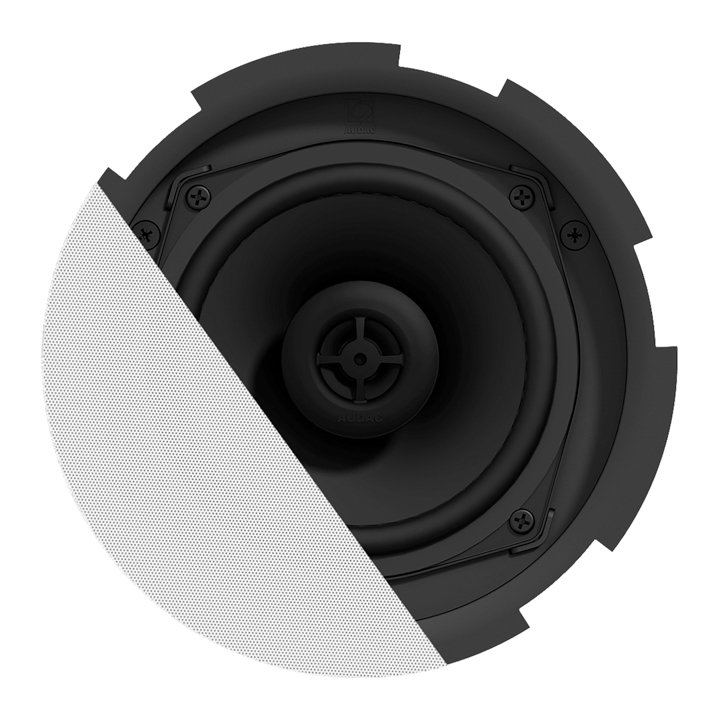 "CIRA5 QuickFit™ 2-way 5 1/4"" ceiling speaker with TwistFix™ grill"