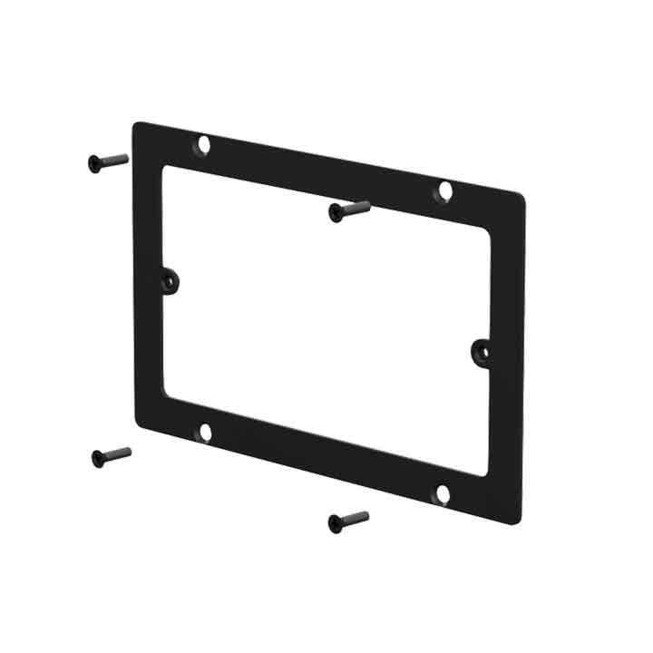 WB50/AF Adapter frame for WB50 to 3-gang US standard