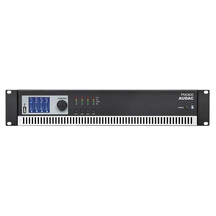 PMQ600 WaveDynamics™ quad-channel 100V power amplifier