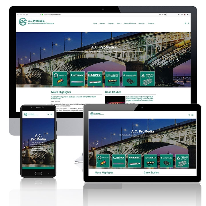 A.C. ProMedia Launches New Website