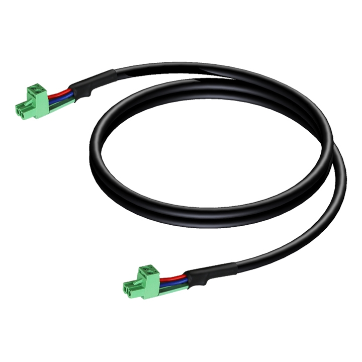 CLA530 Loudspeaker cable - terminal block - terminal block (2p - 5.08mm)