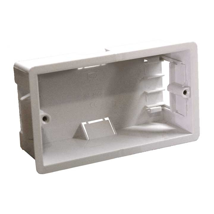 WB50/FG Flush mount box for AUDAC wallpanel - hollow wall