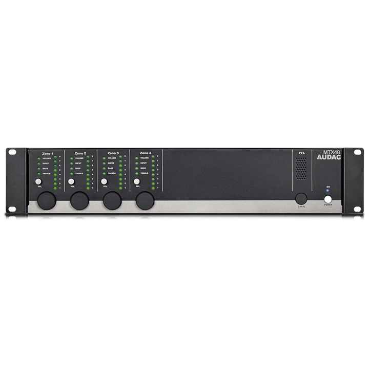 MTX48 4-zone audio matrix