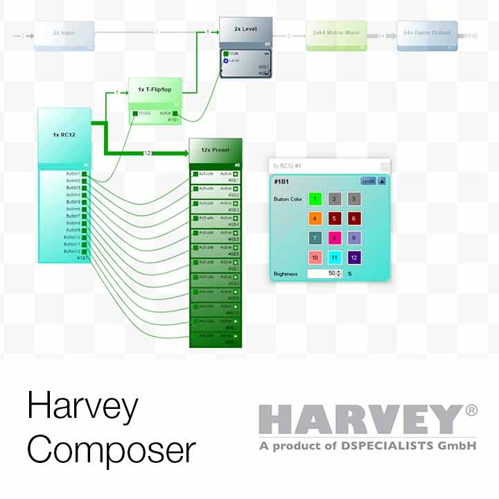 New Composer Software 2.5 now Available for HARVEY