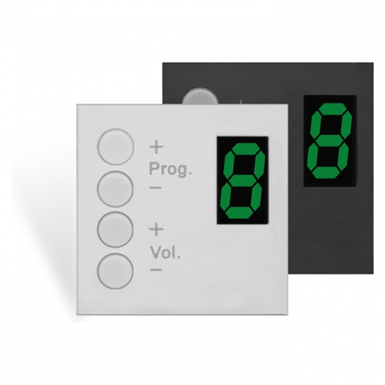 DW3020 Wall panel controller 45 x 45 mm
