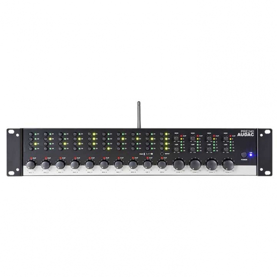 PRE240 Four zone - 10 Channel stereo preamplifier