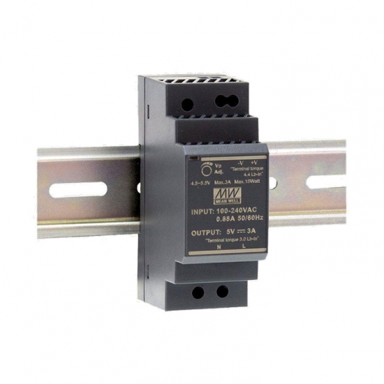 AC-DC Ultra Slim DIN Rail Power Supply