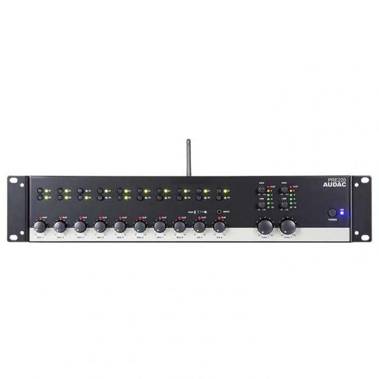 PRE220 Two zone - 10 Channel stereo pre-amplifier
