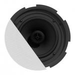 "CIRA8 QuickFit™ 2-way 8"" ceiling speaker with TwistFix™ grill"