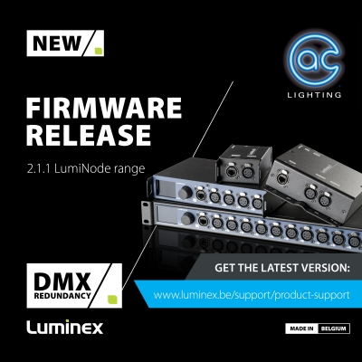 Introducing DMX Redundancy - Luminex LumiNode