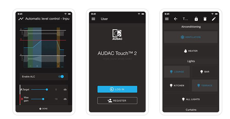 AUDAC Touch 2.4 What's New